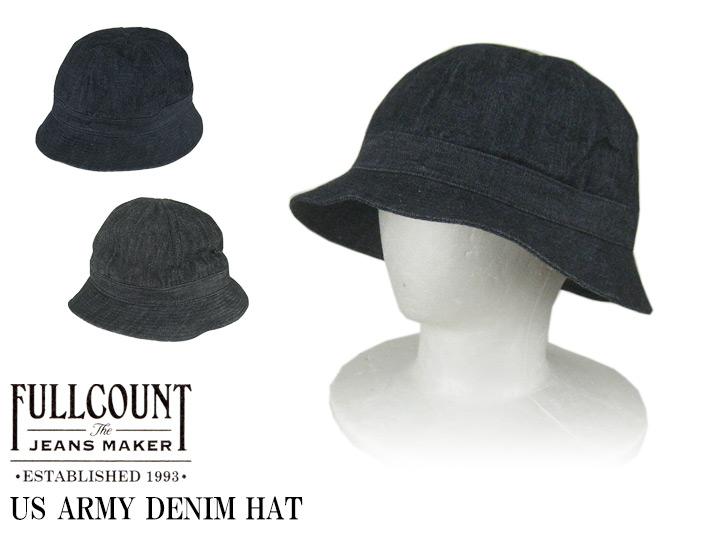 フルカウント US ARMY DENIM HAT