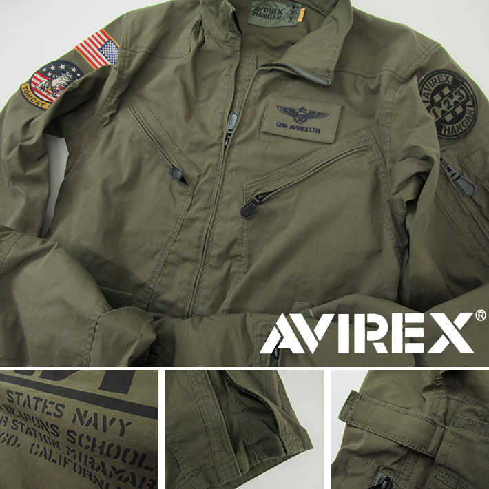 AVIREX ジャンプスーツ