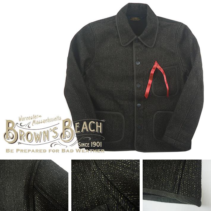 ブラウンズビーチ ジャケット
