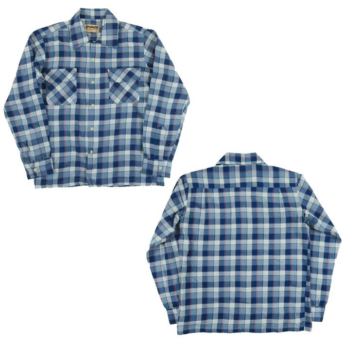 カムコ フランネルシャツ