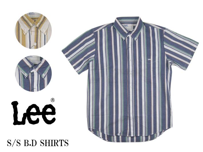 Lee 半袖ボタンダウンシャツ