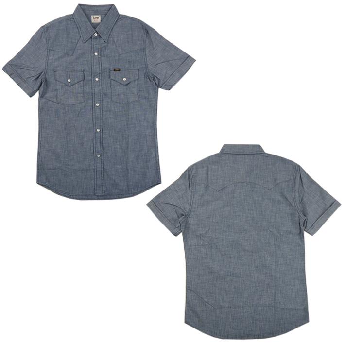 Lee 半袖 ウエスタンシャツ