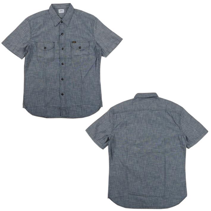 Lee 半袖 ワークシャツ