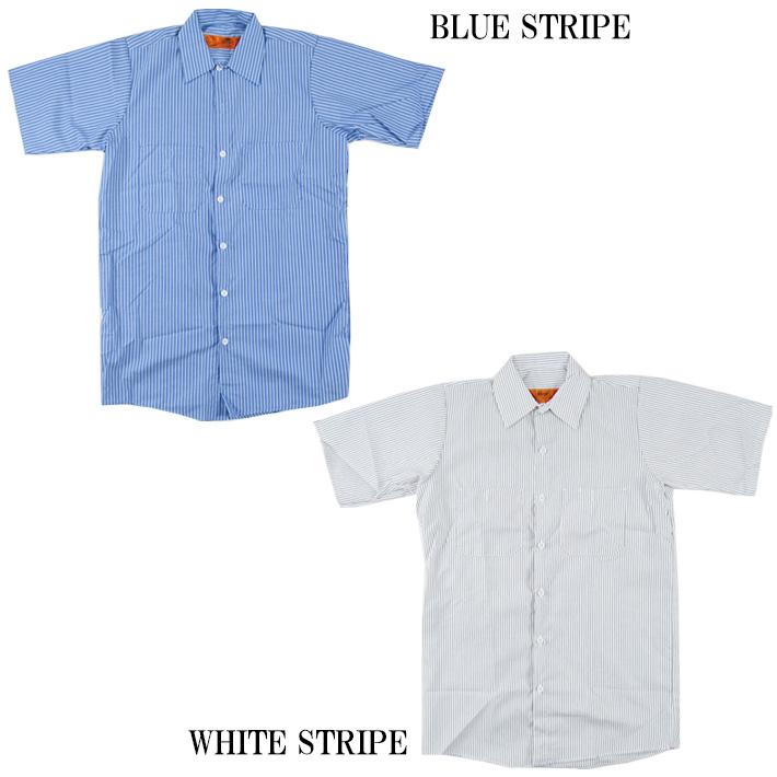 レッドキャップワークシャツ
