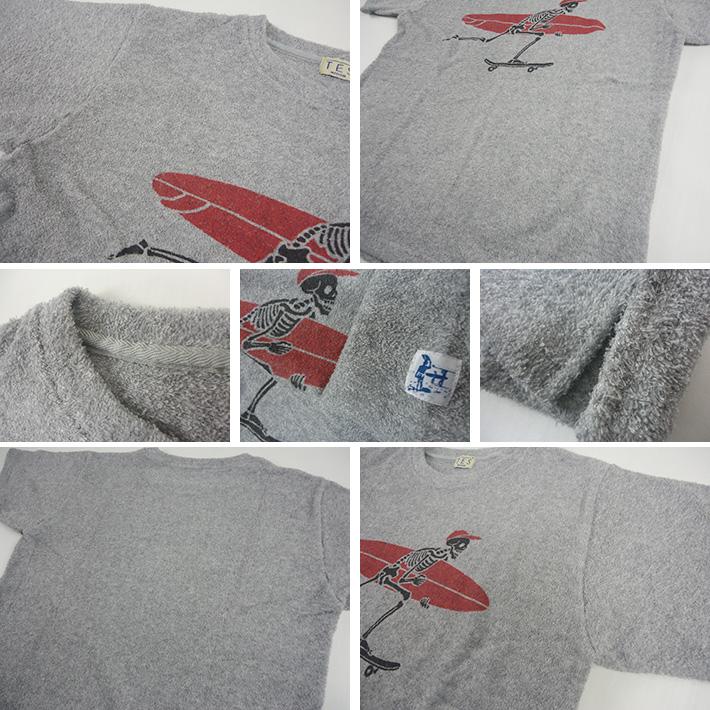 TES パイル生地 BUHI Tシャツ