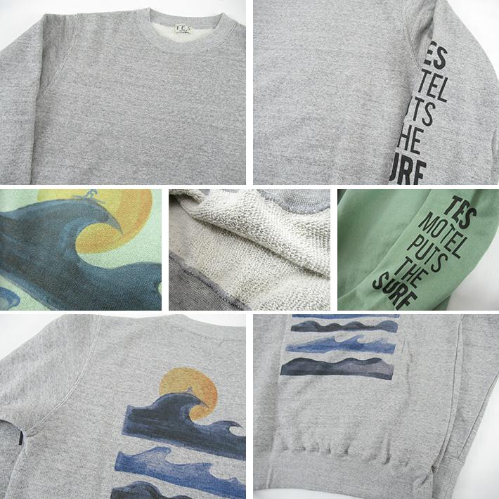 TES BUHI スウェットシャツ