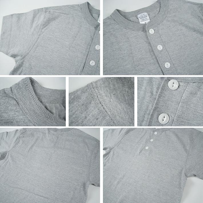ヘンリーネック Tシャツ
